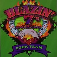 Blazin'7's BBQ dine in, take out, catering and professional  cook team