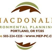 Macdonald Environmental Planning, PC