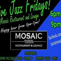 Live Jazz at Mosaic Restaurant & Lounge