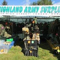 Highland army surplus
