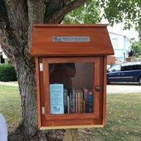 Little Free Library on Gavin Street