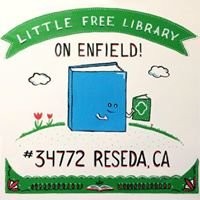 Little Free Library on Enfield