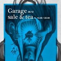 Garage sale and tea