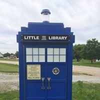 Yankee Hill Tardis Little Free Library