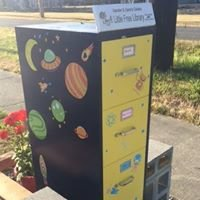 Xander and Zane's Galaxy Little Free Library