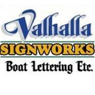 Valhalla Signworks - Boat Lettering, Etc.