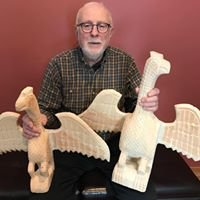 Daniel Strawser Traditional Folk Carvings