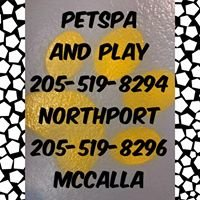 Pet spa and play