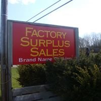 Factory Surplus Sales
