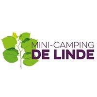 """Mini camping: """"De Linde"""""""