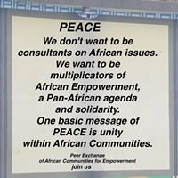 Peer Exchange of African Communities for Empowerment - PEACE International