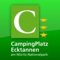 CampingPlatz Ecktannen am Müritz-Nationalpark