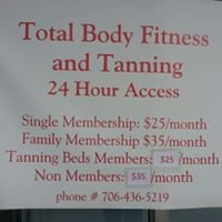 Total Body Fitness and Tanning