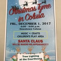 Christmas Tyme in Colusa