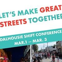 Shift: The Dalhousie School of Planning Conference