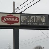 Brown's Upholstering
