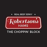 Robertson's Hams The Choppin' Block