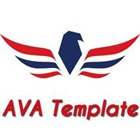 AVA Template Website Design