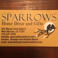 Sparrows, Home Decor and Gifts