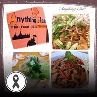 Anything Else? Thai Fusion Food.