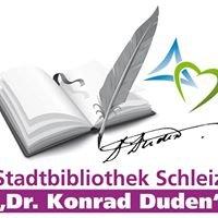 """Stadtbibliothek Schleiz """"Dr. Konrad Duden"""""""