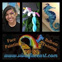 Vivid Face Art - Face Painting & Balloon Twisting
