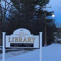 Julia Adams Morse Memorial Library