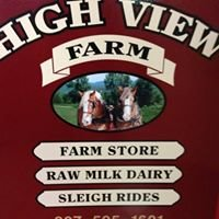 Winter Sleigh Rides at High View Farm