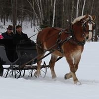 Sleigh Rides in Maine @ Northern Heights Farm