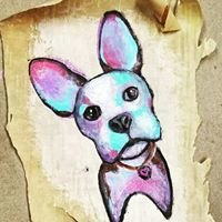 THE PAINTED DOG: art & stitch studio
