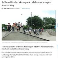 One Minet Skate Park Saffron Walden