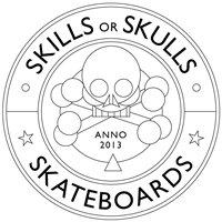 Skills or Skulls Skateboards