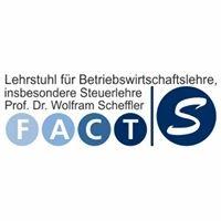 FACTs Lehrstuhl für Betriebswirtschaftslehre, insb. Steuerlehre Nürnberg