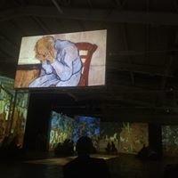 Antrepo Van Gogh Alive Sergisi