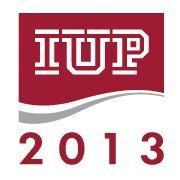Indiana University of Pennsylvania (IUP), Fall 2013
