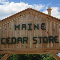 Maine Cedar Store