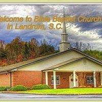 Bible Baptist Church, Landrum SC