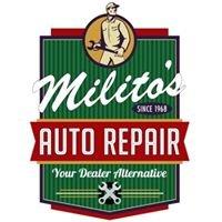 Milito's Auto Repair, Milito's Mobil and Milito's Car Wash