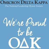 Omicron Delta Kappa at Stockton University