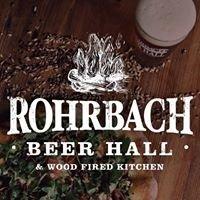 Rohrbach Railroad Street Beer Hall
