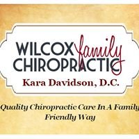 Wilcox Family Chiropractic.