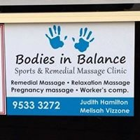 Bodies In Balance Sports & Remedial Massage Clinic