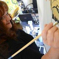 Kathleen McQueen Wright ~Artist Studio