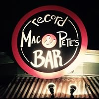 Mac & Pete's Record Bar