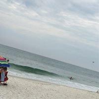 On The Beach In Orange Beach, Alabama