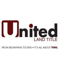 United Land Title, LLC