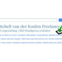 Mitchell van der Koelen Freelance