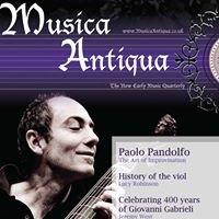 Musica Antiqua - UK Early Music Publication
