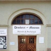 """Druckerei Museum Feuchtwangen """"Sommers Alte Druckerei"""""""