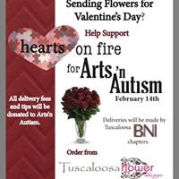 Hearts on Fire for Arts 'n Autism